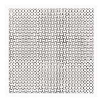 Пластина титановая сетчатая динамическая 170x170x0,6 мм