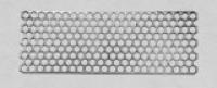 100 микронная титановая сетка 1,5 см x 4 см